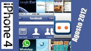 Top Apps para iPhone, agosto 2012