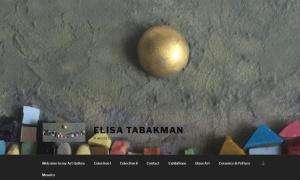 Sitio web de Elisa Tabakman
