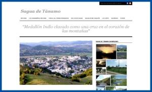 Sitio del pueblo Sagua de Tánamo, Cuba